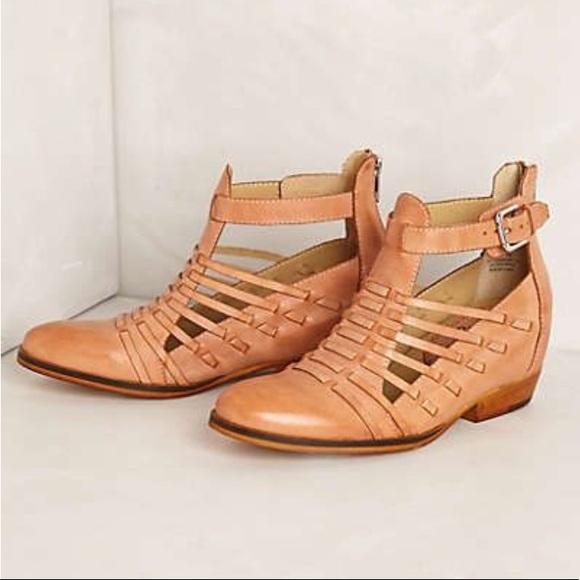 5b458645cf6 Anthropologie Shoes - Anthro huarache booties